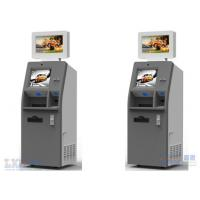 Payment Kiosks With Magnetic Card Dispenser / ATM Kiosk With Bill Acceptor Manufactures