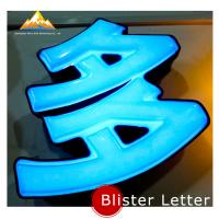 3D Acrylic Vacuum Formed Advertising Signboard Blister Letter Signs for Advertising Manufactures