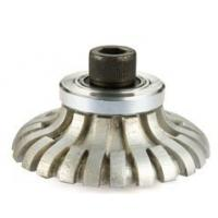 China Metal Bond System Vacuum Brazed Router Bits F Shape For Portable Profile Machines on sale