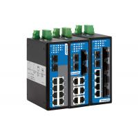 DIN-Rail Mounting or Wall Mounting 10-port 100M/Gigabit Layer 2 Managed Industrial Ethernet Switch Manufactures