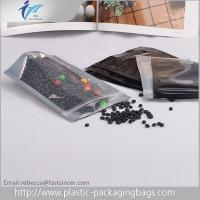 Customised Logo LDPE Small Plastic Zipper Bags Moisture Proof For Snack Manufactures