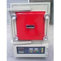 China Inert Gas Protect Heating Controlled Atmosphere Furnace , 12L 1400C Industrial Vacuum Furnace on sale