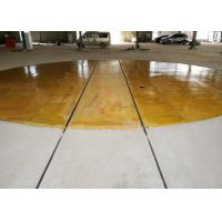 Dia 10m Large turntable 360 degree turning for painting line Manufactures