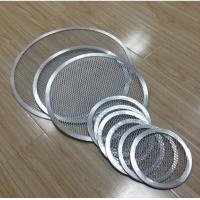 FDA Stainless Steel Barbecue Grill Netting Screen / Mesh Pizza Trays Free Sample Manufactures