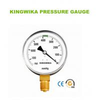 China vacuum pressure gauge on sale