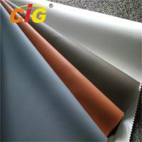 China Colorful PVC Upholstery Leather , 0.6mm -1.2mm Upholstery PVC Leather Anti Mildew on sale
