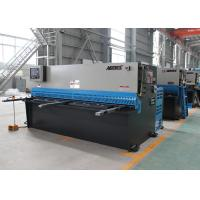 Automatic Sheet Metal Cutting Hydraulic Shearing Machines 18.5KW Motor Power Manufactures