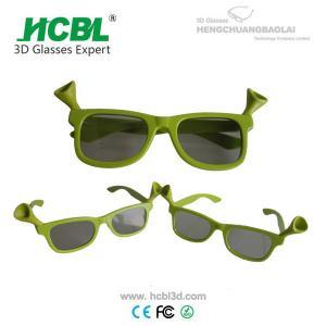 plastic frame comfortable safe realD 3d glasses cinema children 3d glasses Manufactures
