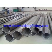 Round 2205 Duplex Stainless Steel Tubing ASTM A790 Galvanized Steel Pipe Manufactures