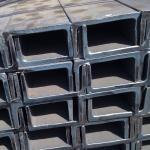 Black Universal Channel Steel / H Channel Steel Galvanized Technique