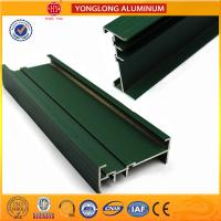 Color Diversity Powder Coated Aluminium Extrusions Surface Smooth Manufactures