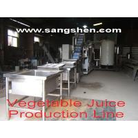 Buy cheap Vegetable Juice Production Line from wholesalers