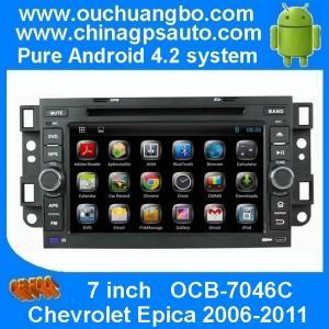 Car radio Chevrolet Epica /Captiva /Spark /Optra with gps system usb sd mp3 player OCB-7046C Manufactures