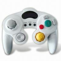 Dual Shock Controller with Turbo Function, Compatible with Wii/Game Cube Manufactures