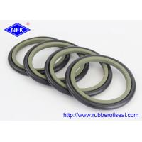 NBR PTFE Buffer Hydraulic Rod Seals , High Pressure Hydraulic Seals GS5059-V6 HBTS Manufactures