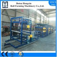 China Roofing Sandwich Panel Production Line Cr12 Cutting Blade Material on sale