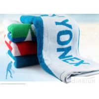 Terry Yonex Lengthen Soft Gym Workout Towels 100% Cotton 60*120cm Stripe Design Manufactures