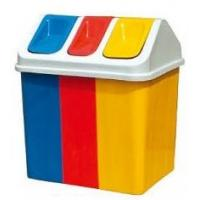 Colorful Plastic Outdoor Classified Rubbish Waste Bin with Large Capacity HA-15102 Manufactures