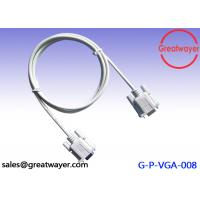 UL 20276 26AWG Coaxial RS 232 9 PIN CABLE Male To Male Adapter Extension Assembly Manufactures