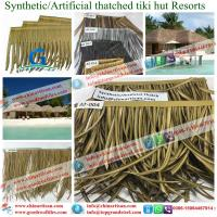 Cheap Wave Hollow Pvc Plastic Synthetic Thatch Roof Tiles Synthetic Resin Roofing Top Manufactures