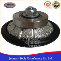 China Johnson Tools No.6 Granite Hand Profile Wheel , Vacuum Brazed Diamond Profile Wheel on sale