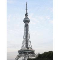 Buy cheap Steel Frame Building Construction Telecommunication Antenna  Self Supporting Towers 3L / 4L from wholesalers
