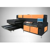 380V 50Hz 10A Laser Engraving Cutting Machine Cutting Accuracy 0.05mm For Leather Cloth Manufactures