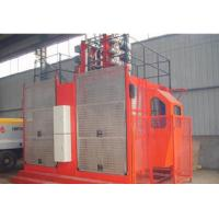 Double Girder Bridge Elevator with Rack and Gear , building elevator Manufactures