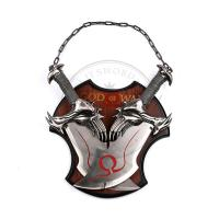 China 17 Inch Video Game God Of War Twin Blade Of Chaos Kratos Sword Set on sale
