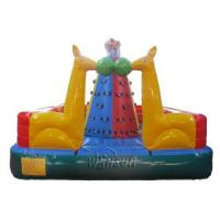 Three Layers PVC Inflatable Climbing Mountain For Pre - School / Kindergarten Manufactures