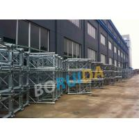 Aluminum Construction Material Hoist Up Ramp Door Style 3.2mx1.5mx2.5m Cage Size Manufactures