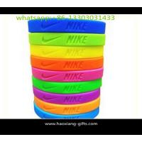 China Cheap Price Festival Promotional Colorful Printed Silicone Wristband With Logo on sale