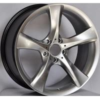 1-piece forged wheel 19 Inch Car Rims  for BMW X5 / Hyper Silver Customized  19 Forged Alloy Rims Manufactures