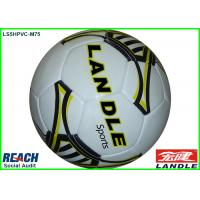 China Custom 400g Weight Hand Stitched Soccer Ball , Silk Screen Printing on sale