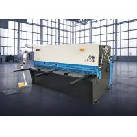 Metal Sheet Cutting Machine 20mm * 3200mm , Hydraulic Cutting Machine QC12K Series Manufactures