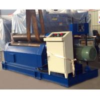 Mechanical 3 Rollers Plate Rolling Machine , Steel Roll Bending Machine