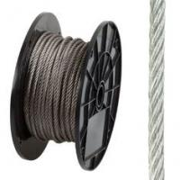 7x19 AISI316 Stainless Steel Wire Rope Long Service Life For Green Wall Manufactures