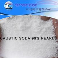 Quality INDUSTRY GRADE CAUSTIC SODA 99% PEARLS NaOH CAS NO.: 1310-73-2 for sale