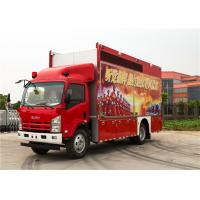 ISUZU Chassis Commercial Cab Fire Trucks With 13 Sets Communication Modules Manufactures