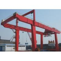 China rail mounted gantry crane container crane on sale