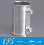 EMT Set Screw Coupling, Zinc / Aluminum , Electrical Conduit Fittings Zinc Coupling Manufactures