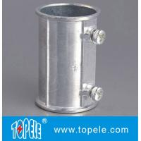 EMT Set Screw Coupling, Zinc / Aluminum , Electrical Conduit Fittings Zinc Coupling Manufactures