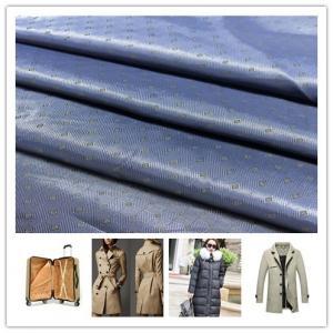 China Geometric Pattern Anti Static Lining Fabric , Anti - Tear Lining Polyester Fabric on sale