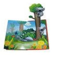 CMYK / PMS color printing C2S art paper 3D characters Childrens Coloring Book Printing Manufactures
