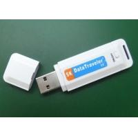 China 8GB plastic USB pen Drive digital Audio voice Recorder White with Clock System on sale