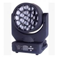 Quality 19x12w Rgbw 4in1 Zoom Led Bee Eyes Moving Head Disco Stage  Lights  Stage decor for sale