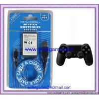 PS4 wireless controller battery with USB 1000mAh PS4 game accessory Manufactures