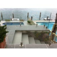 Buy cheap Modern swimming pool fence glass railing balustrade railing spigot from wholesalers