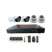 SONY CMOS SHARP CCD 4CH D1 DVR Security Camera System 1100TVL 1200TVL Manufactures