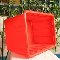 rectangular shape HDPE food grade  Plastic fish storage tank for sale  in China plastic container factory Manufactures